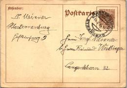 8730 - Niederösterreich - Ganzsache , Klosterneuburg - Gelaufen 1936 - Stamped Stationery