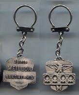 Porte-clefs Aigle Joints Meillor Nantiat H.V Fabr. Opal Talence Gironde - Key-rings