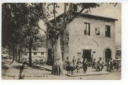 Cartolina Carsoli Bar Stazione Privative N. 9 1926 Viaggiata L'Aquila - L'Aquila