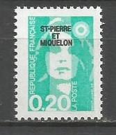 Timbre St Pierre Et Miquelon Neuf **  N 515 - Ungebraucht