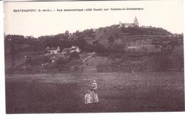 Chateaufort - Vue Panoramique Sur Voisins Le Bretonneux - Altri Comuni
