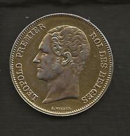 """Belgique / 2 1/2 Francs 1849 """" LEOPOLD PREMIER Roi Des Belges """" Petite Tète Nue En Argent - 10. 2 1/2 Franco"""