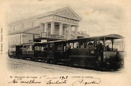 YVELINES - 78 - SAINT-GERMAIN-EN-LAYE - L'Arrivée Du Tramway - St. Germain En Laye