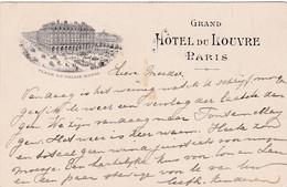 PARIS Hôtel Du Louvre Place Du Palais Royal # 1904     675 - Distrito: 01