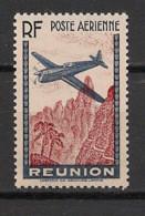 Réunion - 1938 - PA N°Yv. 2a - 3f65 Bleu - Variété Sans Valeur - Neuf Luxe ** / MNH / Postfrisch - Posta Aerea