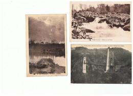 2113-627    6cp  Paysage-viam La Vézére-viaduc Roche Taillade-cascade Tulle Et Gimel2  Dep 19 Vente Retirée Le 18-04 - Zonder Classificatie
