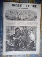 LE MONDE ILLUSTRE 14/12/1872 INONDATIONS LOIRE TRENTEMOULT NANTES MARNE CHELLES PARIS BOSTON FECAMP SUPPLICE FOUET - 1850 - 1899