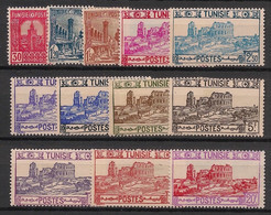 Tunisie - 1941-45 - N°Yv. 232 à 243 - Série Complète - Neuf  Luxe ** / MNH / Postfrisch - Unused Stamps