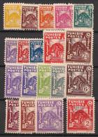 Tunisie - 1944-45 - N°Yv. 250 à 268 - Complet 19 Valeurs - Neuf  Luxe ** / MNH / Postfrisch - Unused Stamps