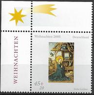 2005 Deutschland Germany Mi. 2492 **MNH  EOL  Weihnachten Anbetung Des Kindes - Unused Stamps