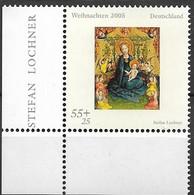 2005 Deutschland Germany Mi. 2493 **MNH  EUL  Weihnachten  Muttergottes In Der Rosenlaube - Unused Stamps