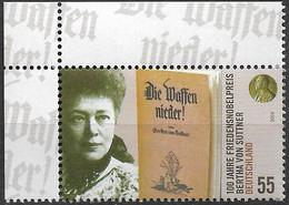 2005 Deutschland Germany Mi. 2495 **MNH EOL 100. Jahrestag Der Verleihung Des Friedensnobelpreises An Bertha Von Suttner - Unused Stamps
