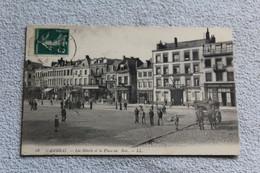 Cambrai, Les Hôtels Et La Place Au Bois, Nord 59 - Cambrai