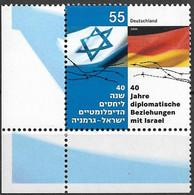 2005 Deutschland Germany Mi. 2498 **MNH EUL  40 Jahre Diplomatische Beziehungen Mit Israel. - Unused Stamps
