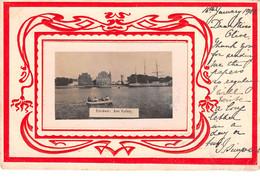 AK - EMDEN, Am Hafen, 1902 - Emden