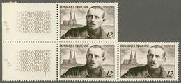 FRANCE 1950 Bloc Yt 865 Charles Péguy MNH**, Ecrivains, Guerre 1914-1918, First World War, Cathédrale De Chartres - Nuovi