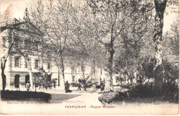 FR66 PERPIGNAN - Brun - Hôpital Militaire - Belle - Perpignan
