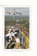 MILLAU - Construction Du Plus Haut Viaduc Du Monde...- Cart'actu 2002 N° 50 - Photo Dominique Faget - Millau