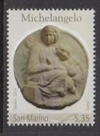 2014 San Marino Michelangelo Art   Complete  Set Of 1 MNH  @ BELOW FACE VALUE - Ungebraucht