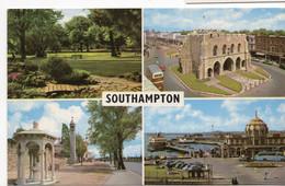 Hampshire - Southampton, Multiview - Postcard - Southampton
