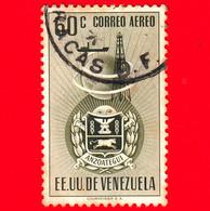 VENEZUELA - Usato - 1951 - Stemma Dello Stato Di Anzoategui - Arms - 60 - Venezuela
