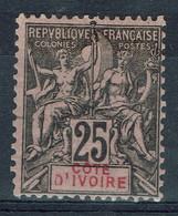 Côte-d'Ivoire, 25c., Type Groupe, 1892, *, TB Joli Timbre - Unused Stamps