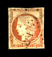 5 - 40c Orange Cérès 1849 - Oblitéré Losange PC - TB - 1849-1850 Ceres