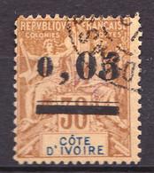 COTE D'IVOIRE - 18 - 0,05 Sur 30c Brun - Oblitéré - Très Beau - Gebraucht