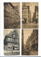 XX11924/ 4 X AK Alt-Hamburg  1910-16 - Mitte