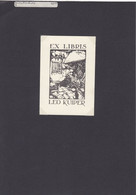 EX-Libris - Anton PIECK By Anton Pieck (NL) - Kitchen - Black Cat - ... - Ex Libris