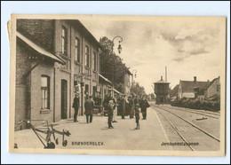 U9126/ Bronderslev Jernbanestation  Bahnhof   Dänemark  AK 1917 - Denemarken