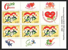 FINLANDIA 1993 - AMISTAD FINLANDIA CON ESTONIA - YVERT Nº 1164 PROCEDE DE CARNET - Unclassified