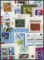 SAMMLUNGEN, LOTS A. Bl.86-140 **, 1979-84, 22 Verschiedene Blocks, Fast Nur Prachterhaltung, Mi. 2013: 400.- - Lots & Serien