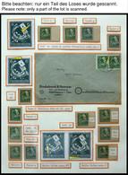 THÜRINGEN 95 **,o,Brief,* , Ausstellungssammlung 6 Pf. Posthorn Und Brief, Spezialisiert Nach Papieren, Farben Und Platt - Sowjetische Zone (SBZ)