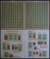 THÜRINGEN 94 **,o,Brief,* , Ausstellungssammlung 5 Pf. Tannen Im Thüringer Wald, Spezialisiert Nach Papieren, Farben Und - Sowjetische Zone (SBZ)