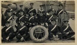 RPPC CARTE PHOTO H.M.S. SWIFTSURE - Warships