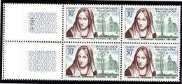FRANCE 1959 YT N° 1214 DESBORDES-VALMORE Bloc De 4, ** - Ongebruikt