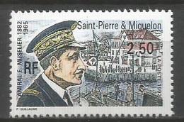 Timbre St Pierre Et Miquelon Neuf **  N 558 - Unused Stamps