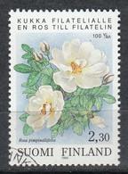 FINLANDIA 1993 - FLORES - ROSAS - YVERT Nº 1174** - SPECIMEN - Unclassified
