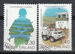 FINLANDIA 1993 - DEFENSA NACIONAL - EJERCITO - YVERT Nº 1178-1179** SPECIMEN - Unclassified