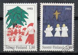 FINLANDIA 1993 - NAVIDAD - NOEL - CHRISTMAS- YVERT Nº 1198-1199**  - SPECIMEN - Unclassified