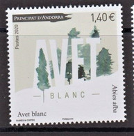 10.- FRENCH ANDORRA 2020 WHITE FIR - Nuovi