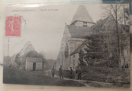 95 - LABBEVILLE - église Et Ruines - Other Municipalities