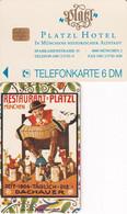 GERMANY - Platzl Hotel 2(K 118), Tirage 3000, 04/93, Mint - K-Series: Kundenserie