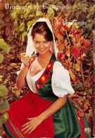 Bourgogne Femme Pin Up Vins Vin Vendanges Moisy Protet 24 L 9 - Altri Comuni