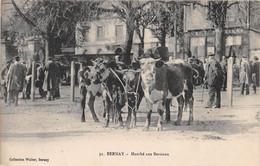 BERNAY - Marché Au Bestiaux - Vaches - Bernay