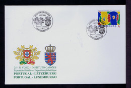Portugal Luxembourg Brasons Coat Of Arms 2002 Philatelic Exhibition Heraldic Sp7529 - Holograms