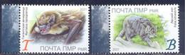 2021. Transnistria, Endangered Animals In Transnistria, 2v, Mint/** - Moldavia