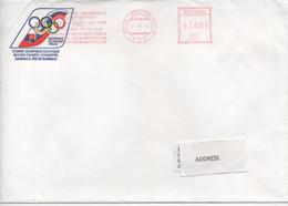 Slovakia, Slovak Olympic Coommittee, Meter Cancel - Cartas