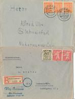 *, Gest. Konvolut Von 106 Stck. Briefe/AK's/GSK Viel Bedarf Deutsches Material überwiegend 1920-1950, Bitte Unbedingt An - Non Classificati